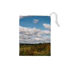 Rural Landscape Drawstring Pouch (small)