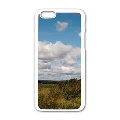 Rural Landscape Apple Iphone 6 White Enamel Case