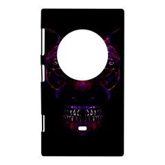 Creepy Cat Mask Portrait Print Nokia Lumia 1020 Hardshell Case