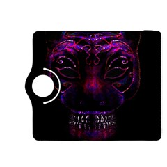 Creepy Cat Mask Portrait Print Kindle Fire HDX 8.9  Flip 360 Case
