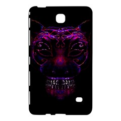 Creepy Cat Mask Portrait Print Samsung Galaxy Tab 4 (8 ) Hardshell Case