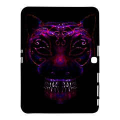 Creepy Cat Mask Portrait Print Samsung Galaxy Tab 4 (10.1 ) Hardshell Case