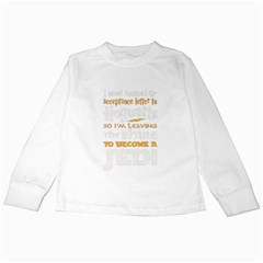 Howarts Letter Kids Long Sleeve T-Shirt
