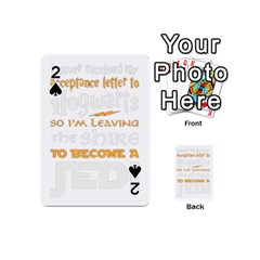Howarts Letter Playing Cards 54 Designs (mini)