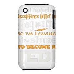 Howarts Letter Apple Iphone 3g/3gs Hardshell Case (pc+silicone)