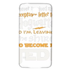 Howarts Letter Samsung Galaxy S5 Back Case (White)