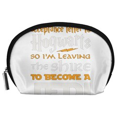 Howarts Letter Accessory Pouch (Large)