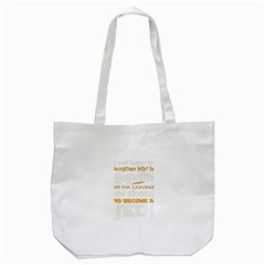 Howarts Letter Tote Bag (White)
