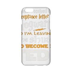 Howarts Letter Apple iPhone 6 Hardshell Case