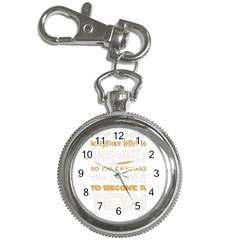 Howarts Letter Key Chain Watch