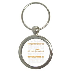 Howarts Letter Key Chain (round)
