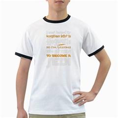 Howarts Letter Men s Ringer T-shirt