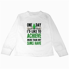 Sims Kids Long Sleeve T-Shirt