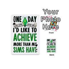 Sims Playing Cards 54 Designs (mini)