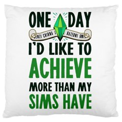 Sims Large Cushion Case (two Sided)