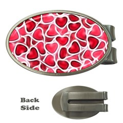 Candy Hearts Money Clip (oval)
