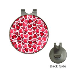 Candy Hearts Hat Clip With Golf Ball Marker