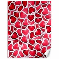 Candy Hearts Canvas 18  X 24  (unframed)