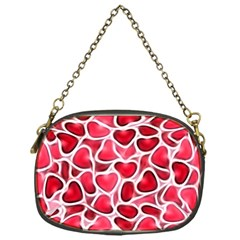 Candy Hearts Chain Purse (one Side)