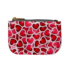 Candy Hearts Coin Change Purse