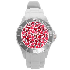 Candy Hearts Plastic Sport Watch (large)