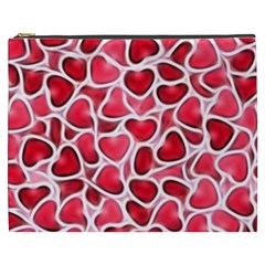 Candy Hearts Cosmetic Bag (xxxl)