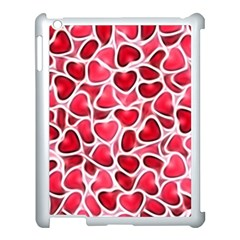 Candy Hearts Apple Ipad 3/4 Case (white)
