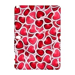 Candy Hearts Samsung Galaxy Note 10 1 (p600) Hardshell Case