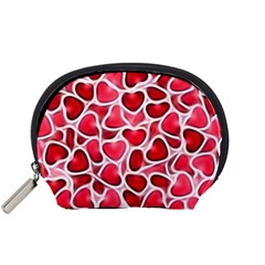 Candy Hearts Accessory Pouch (small)