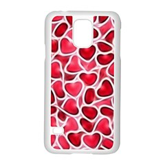 Candy Hearts Samsung Galaxy S5 Case (White)
