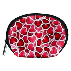 Candy Hearts Accessory Pouch (medium)