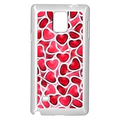 Candy Hearts Samsung Galaxy Note 4 Case (White)