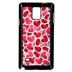 Candy Hearts Samsung Galaxy Note 4 Case (Black)
