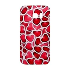 Candy Hearts Samsung Galaxy S6 Edge Hardshell Case