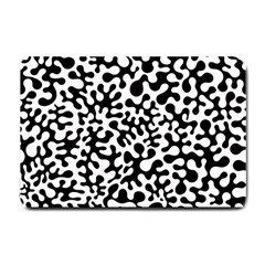 Black And White Blots Small Door Mat
