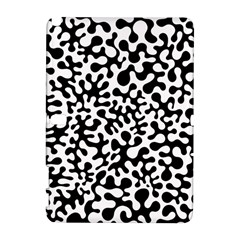 Black and White Blots Samsung Galaxy Note 10.1 (P600) Hardshell Case