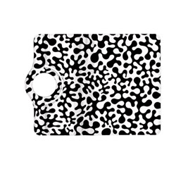 Black And White Blots Kindle Fire Hd (2013) Flip 360 Case
