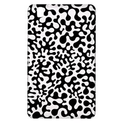 Black And White Blots Samsung Galaxy Tab Pro 8 4 Hardshell Case