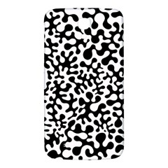 Black and White Blots Samsung Galaxy Mega I9200 Hardshell Back Case