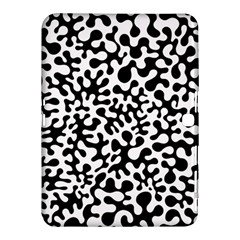 Black and White Blots Samsung Galaxy Tab 4 (10.1 ) Hardshell Case