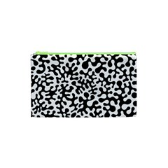 Black And White Blots Cosmetic Bag (xs)