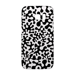 Black And White Blots Samsung Galaxy S6 Edge Hardshell Case