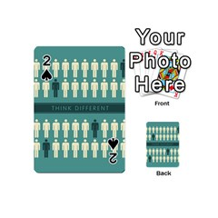 Think Different Playing Cards 54 Designs (Mini)