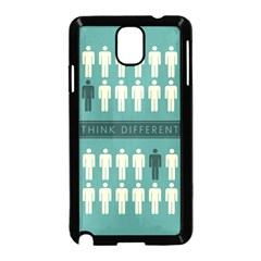 Think Different Samsung Galaxy Note 3 Neo Hardshell Case (Black)