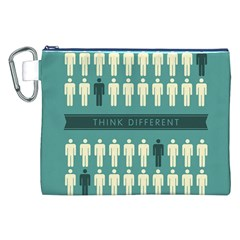 Think Different Canvas Cosmetic Bag (XXL)