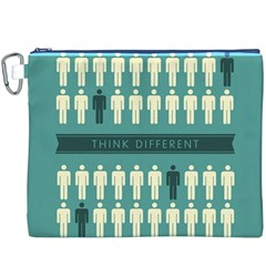 Think Different Canvas Cosmetic Bag (XXXL)