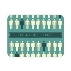 Think Different Double Sided Flano Blanket (Mini)