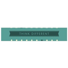 Think Different Flano Scarf (Small)