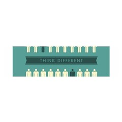 Think Different Satin Scarf (Oblong)