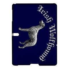 Blue Irish Wolfhound Samsung Galaxy Tab S (10.5 ) Hardshell Case
